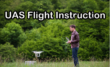 Drone Flight Instruction training